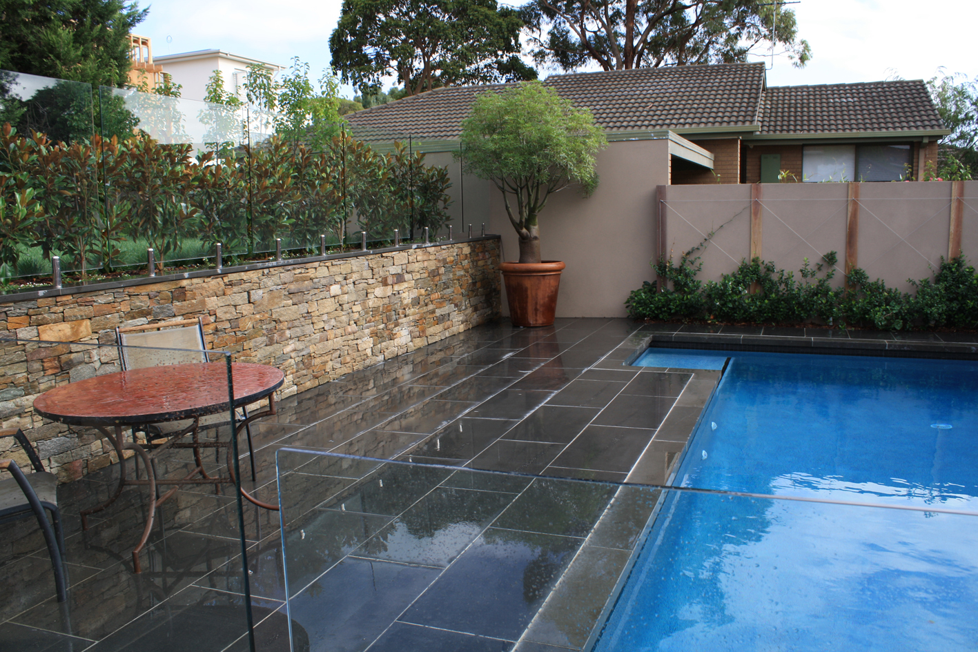 Outdoor Pavers New Zealand : Natural paving indian sandstone cobblestones bluestone more