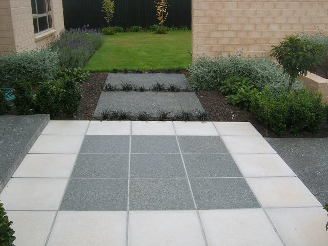 Polished Concrete Paving Stones Aggregate Pavers Urban Paving Nz