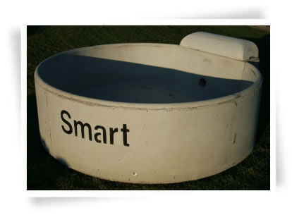 Round Concrete Water Trough