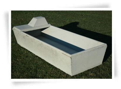 Rectangular Concrete Water Trough